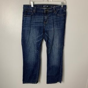 Apt. 9 Straight Crop Jeans
